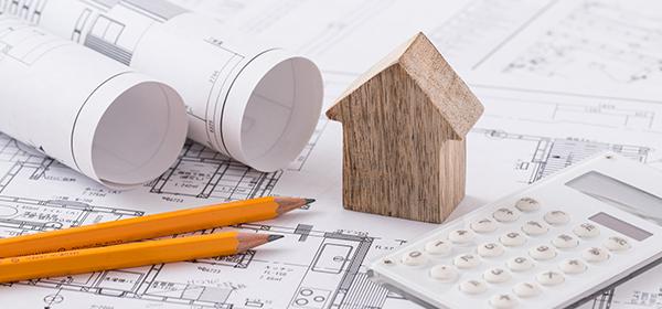 家と設計図